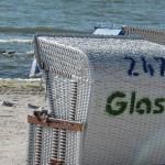 Strandkorb in Grömitz an der Ostsee