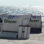 Strandkörbe n Grömitz an der Ostsee