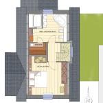 Dachgeschoss Gästewohnung Bootshaus